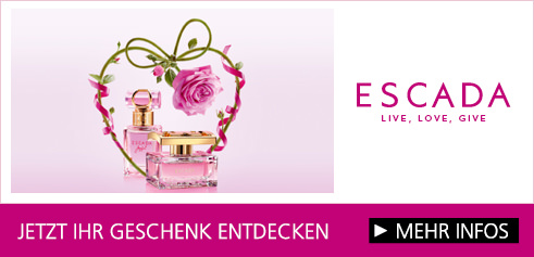 Parfümerie Pieper online - ESCADA – Entdecken Sie die unwiderstehliche und lebensfrohe Welt der ESCADA Düfte! Sichern Sie sich auch Ihr Escada-Geschenk!