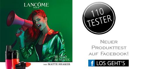 Parfümerie Pieper online - Nehmen Sie an unserem Produkttest von LANCÔME auf Facebook teil