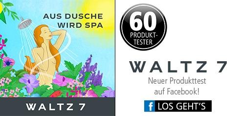 Parfümerie Pieper online - Neuer Produkttest auf Facebook mit Waltz 7