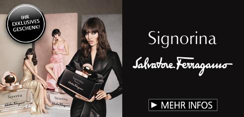 Parfümerie Pieper online - Entdecken Sie den neuen Duft Signorina Misteriosa von SALVATORE FERRAGAMO und sichern Sie sich Ihr Geschenk!
