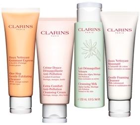 Clarins Gesichtspflege