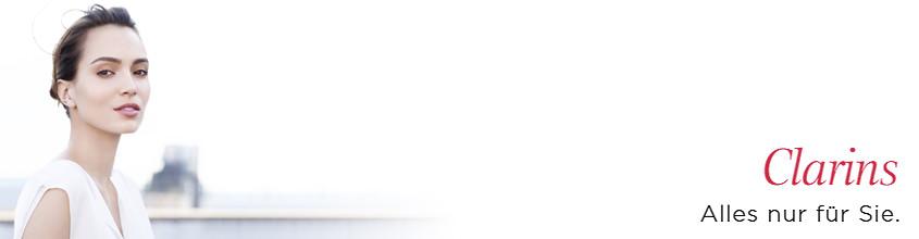 Clarins Markenstartseite