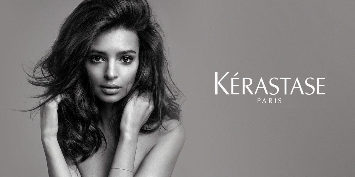 Hochwertige Haarpflegeprodukte von Kérastase für eine geschmeidige und glänzende Haarstruktur.