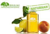 Die Hautpflege von Origins verwöhnte die Haut ohne Parabene, Mineralöle oder Farbstoffe.